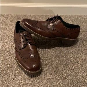 Johnston and Murphy wingtip dress shoes